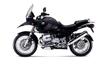 Picture of a black BMW 2004 R 1150 GS